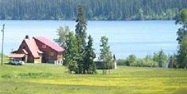 Land near lake